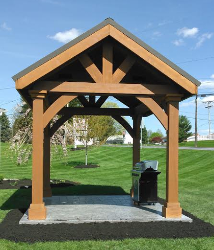 Gazebos by heritage structures for Pavilion cost per square foot